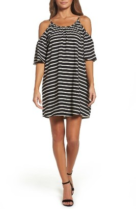 Women's French Connection Cold Shoulder Dress $118 thestylecure.com