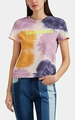 "A.L.C. Women's ""La Californie"" Tie-Dyed Cotton T-Shirt"