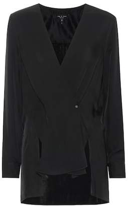 Rag & Bone Debbie twill blouse