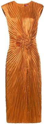 Sies Marjan pleated swirl dress