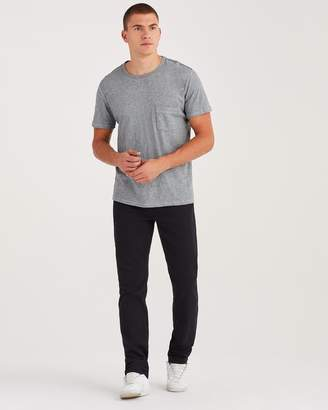 7 For All Mankind 32'' Inseam Luxe Performance Slimmy in Annex Black