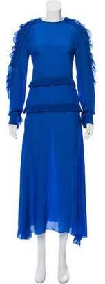 Preen Line Ruffle-Trimmed Maxi Dress