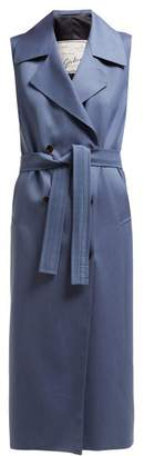 Giuliva Heritage Collection The Alex Sleeveless Wool Dress - Womens - Blue