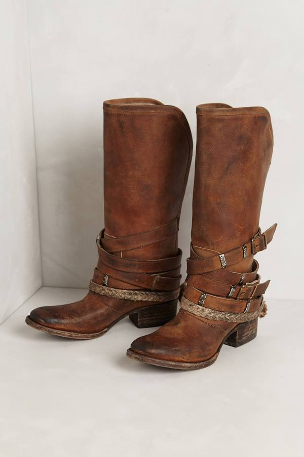 Anthropologie Drover Slinger Mid-Boots