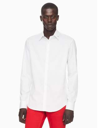 Calvin Klein slim fit logo button down shirt