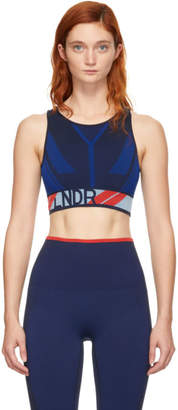 LNDR Navy Eagle Sports Bra