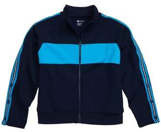 695eb7704f725 Zella Side Stripe Track Jacket (Little Girls   Big Girls)