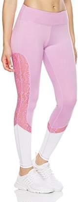 Mint Lilac Women's High-Rise Workout Pants Lace