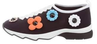 Fendi Floral Slip-On Sneakers