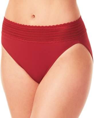 Warner's Warners No Pinching. No Problems. Lace Hi-Cut Panty 5109J - Women's