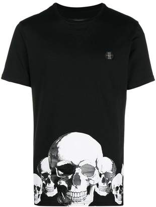 Philipp Plein Smile Platinum Cut T-shirt