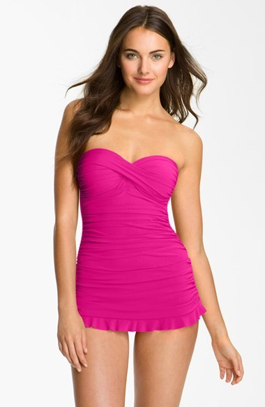Gottex Profile By 'Tutti Frutti' Skirted One-Piece Swim Dress