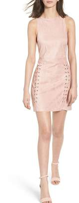 Cupcakes And Cashmere Daton Suede Dress
