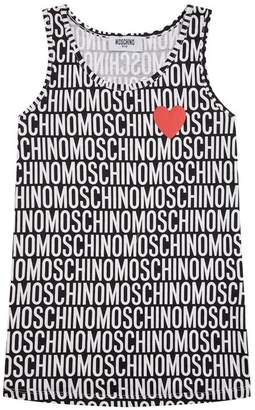 Moschino Logo Text Vest Top