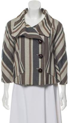 Derek Lam Stripe Knit Jacket