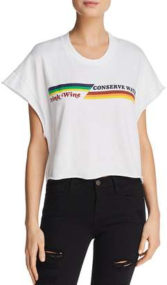 Project Social T Conserve Water Cropped Graphic Tee