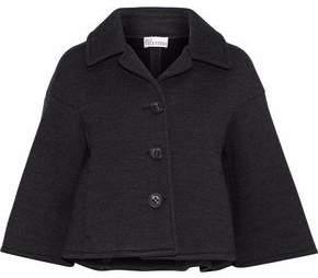 RED Valentino Wool-Blend Twill Coat