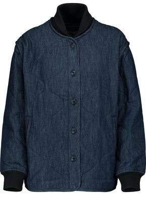 Rag & Bone Addison Quilted Cotton-Chambray Jacket