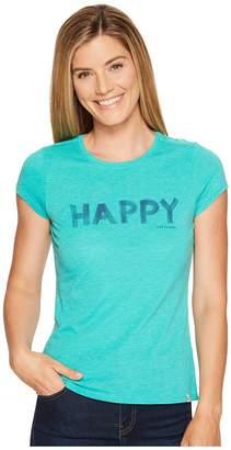 Life is Good Happy Sweet Tee Women's T Shirt