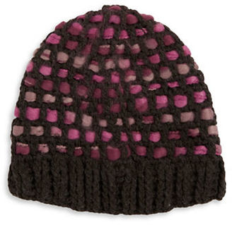 Totes Woven Knit Hat $40 thestylecure.com