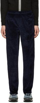 Opening Ceremony Navy Velour Track Pants $275 thestylecure.com