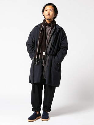 Men's Bigi (メンズ ビギ) - ADITIONAL ナイロンオックスコート メンズ ビギ コート/ジャケット
