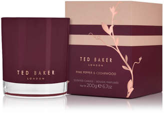 Ted Baker Residence Pink Pepper Cedarwood Candle - 200g