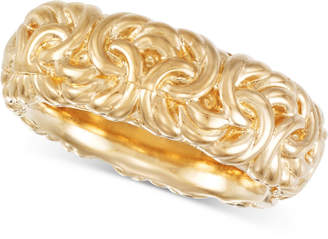 Macy's Signature Gold Byzantine-Inspired Ring in 14k Gold over Resin, Created for