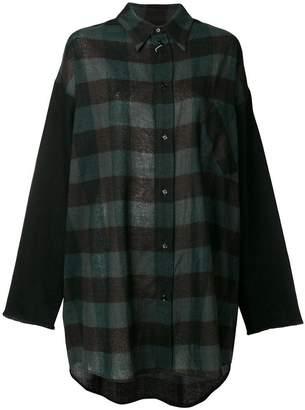 MM6 MAISON MARGIELA long-sleeve check shirt