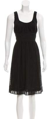 Vince Sleeveless A-Line Dress