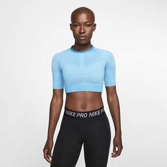 Nike Women's Knit Training Top City Ready