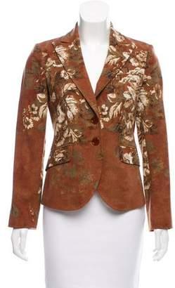 Etro Wool Floral Blazer