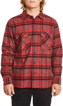 Brixton 'Archie' Plaid Flannel Shirt
