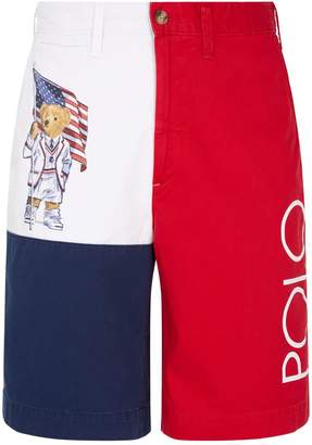 Polo Ralph Lauren Polo Bear Patchwork Shorts