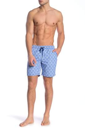 Mr.Swim Mr. Swim Dale Deco Print Swim Trunks