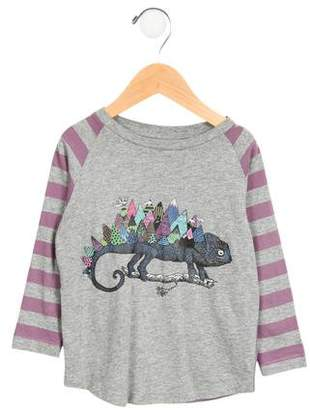 Paper Wings Girls' Striped Moutain Top w/ Tags