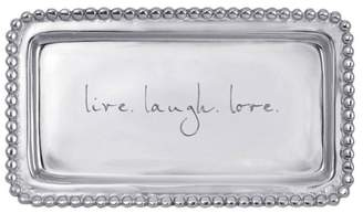 Mariposa Engraved Sentiment Tray