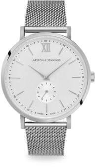 Larsson & Jennings Lugano Jura Silvertone Bracelet Watch