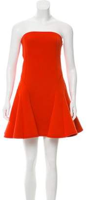 DKNY Sleeveless Cutout Mini Dress