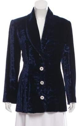 Givenchy Velvet Embellished Blazer