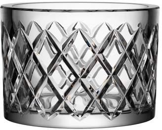 "Orrefors Crystal Checkered Bowl ""Legend"""