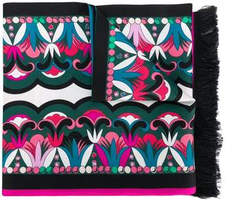 Emilio Pucci colour-block geometric scarf