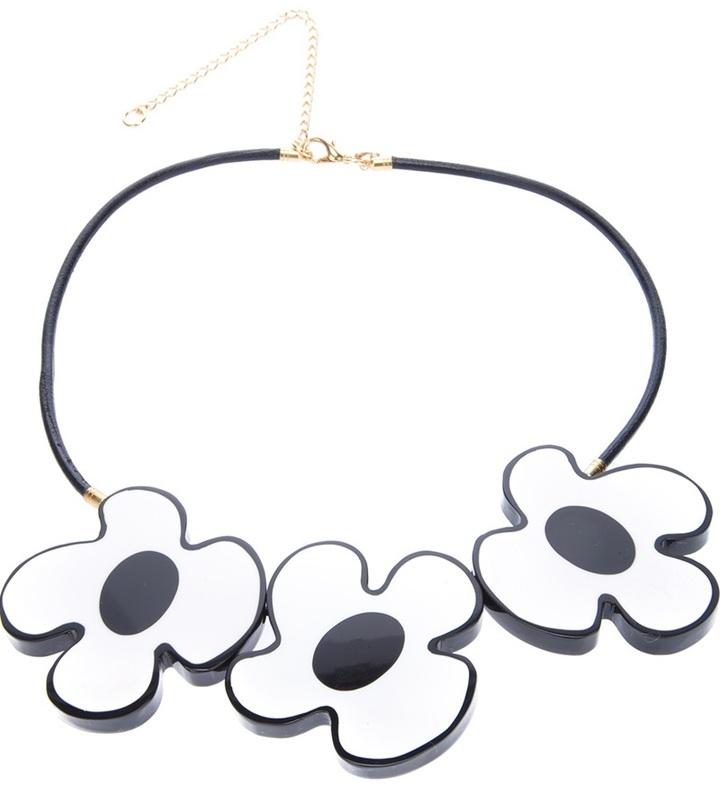 Marni Edition flower pendant necklace