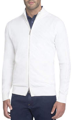 Stefano Ricci Zip-Front Silk-Cotton Cardigan