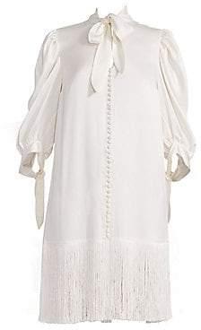 Magda Butrym Women's Gaza Puff Sleeve Dress