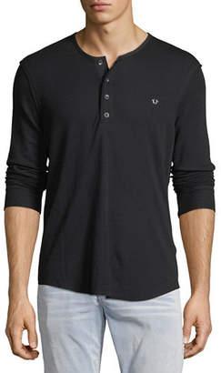 True Religion Classic Henley T-Shirt