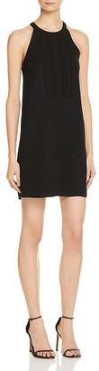 AQUA Scalloped Bib Front Shift Dress - 100% Exclusive $78 thestylecure.com