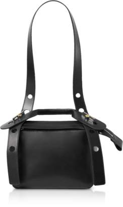 Sophie Hulme Soft Leather Bolt Saddle Bag
