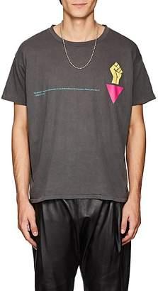 WILLY CHAVARRIA Men's James Baldwin Cotton T-Shirt