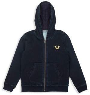 True Religion Little Boy's& Boy's Cotton Hooded Jacket